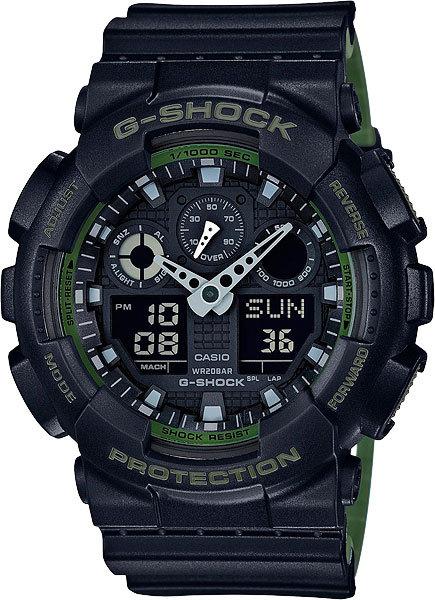 Часы Наручные CASIO GA-100L-1A
