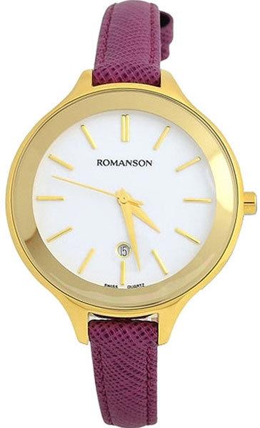 Часы Наручные ROMANSON RL 4208 LG(WH)VIOL