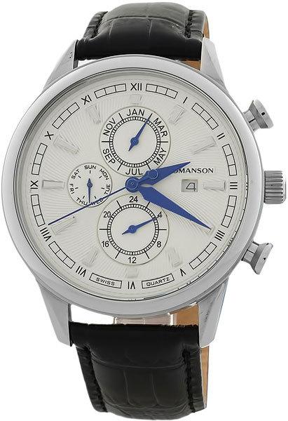 Часы Наручные ROMANSON TL 1245B MW(WH)BK