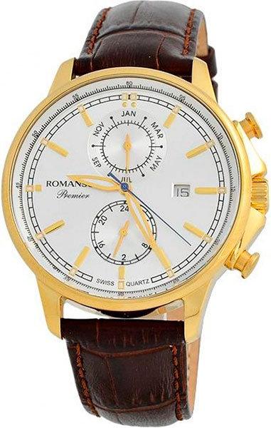 Часы Наручные ROMANSON PB 3251F MG(WH)BN