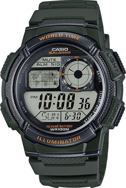 Часы Наручные CASIO AE-1000W-3A