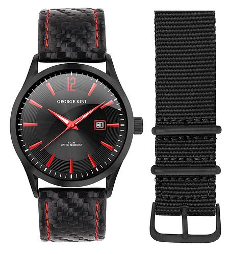 Часы Наручные GEORGE KINI GK.41.1.1B.2RD.6.2.0