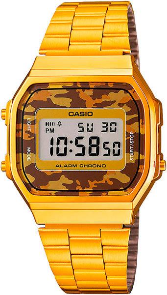 Часы Наручные CASIO A-168WEGC-5E