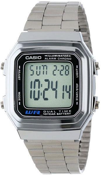 Часы Наручные CASIO A-178WA-1