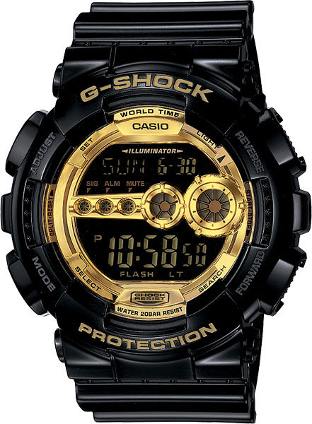 Часы Наручные CASIO GD-100GB-1E
