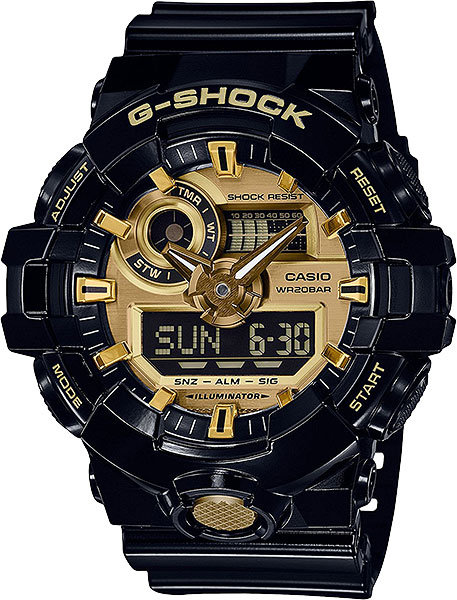 Часы Наручные CASIO GA-710GB-1A