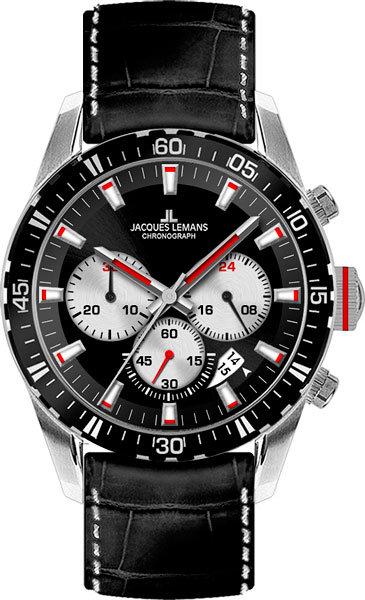 Часы Наручные JACQUES LEMANS 1-1801C