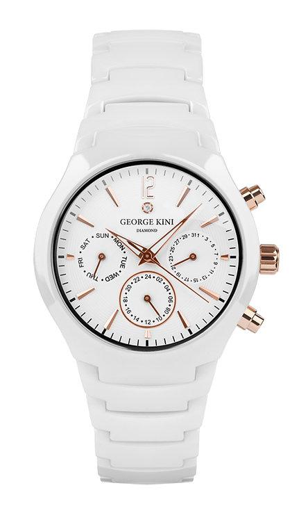 Часы Наручные GEORGE KINI GK.36.6.2W.1R.7.1.0