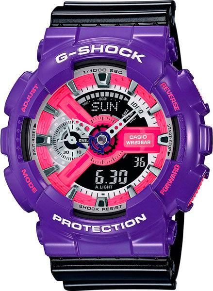 Часы Наручные CASIO GA-110NC-6A