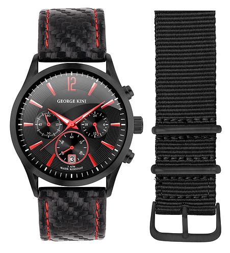 Часы Наручные GEORGE KINI GK.41.7.1B.2RD.6.2.0