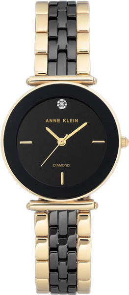 Часы Наручные ANNE KLEIN AK 3158 BKGB