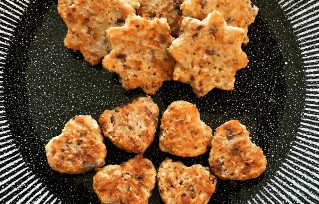 Recept hartige kaas ui koekjes