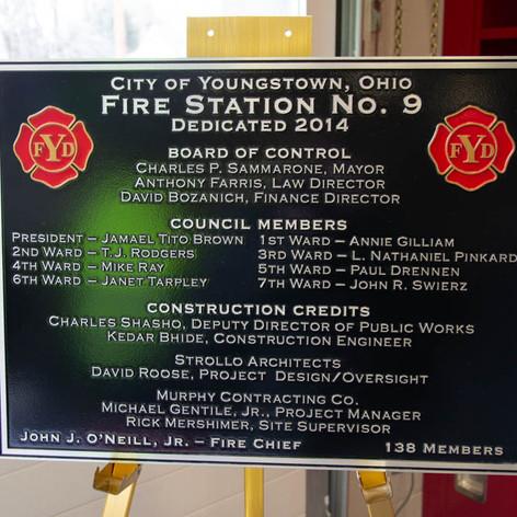 2014-03-05 - Station 9 Dedication
