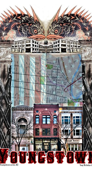 Youngstown Series 2. Tony Nicholas, Artist