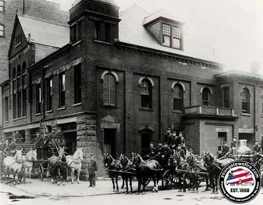 Central Fire Station pre-1914.