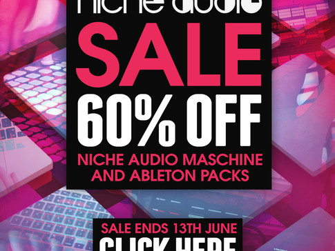 60% Off Niche Audio Packs Until June 13th