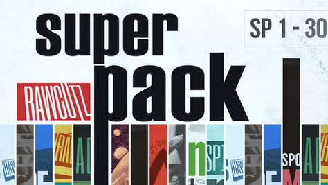 Raw Cutz Super Pack now available featuring all 30 original raw packs!