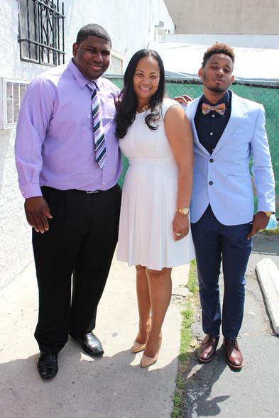 Bro. Emanuel, Dr. Juanita, Bro. Charles