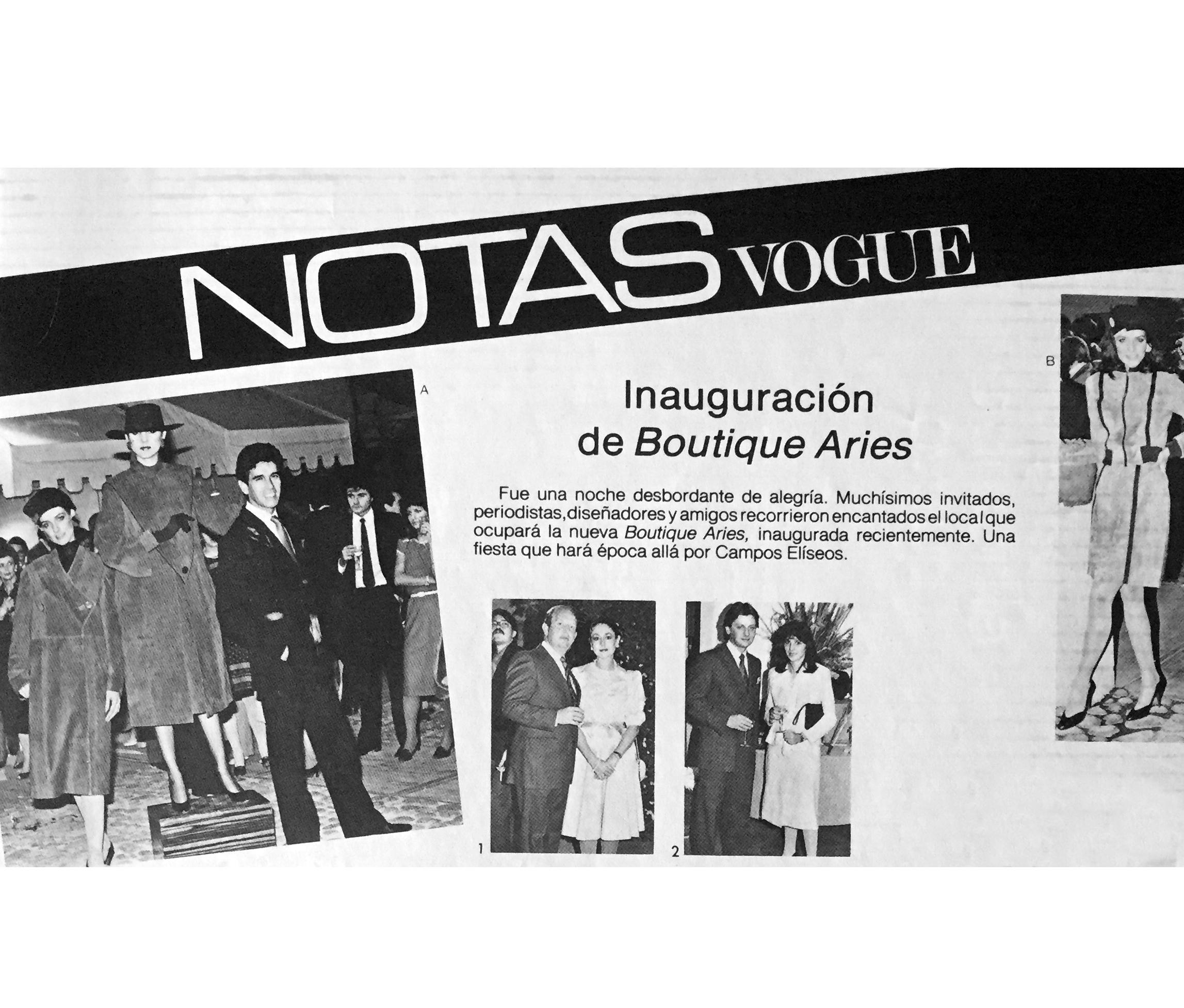 Notas Vogue