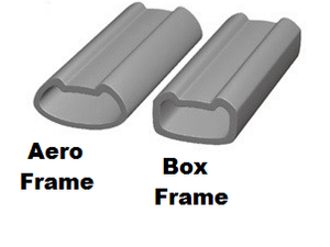 Box Frame vs. Aero Frame