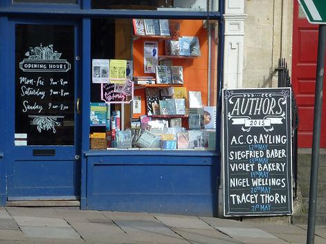 Toppings Bookshop Bath UK