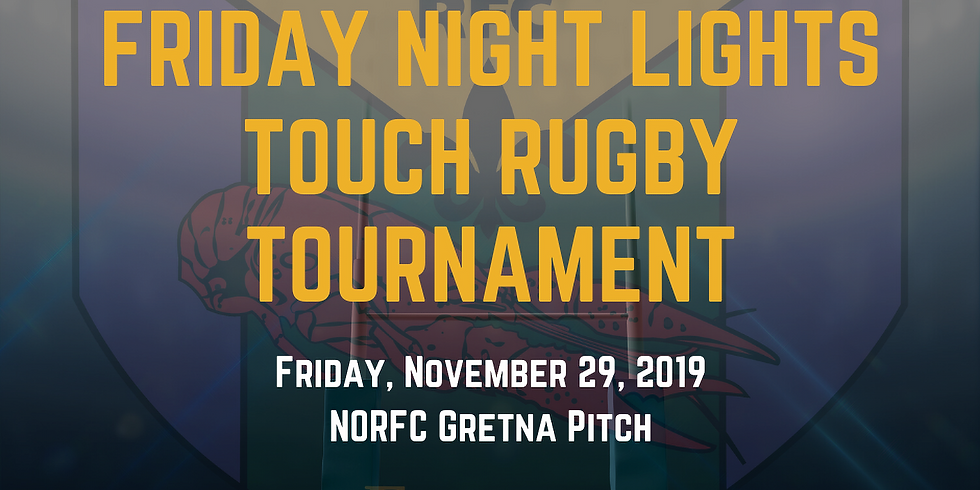 Friday Night Lights Touch Rugby Tournament