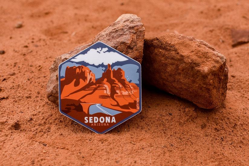 Bell Rock Sedona Sticker