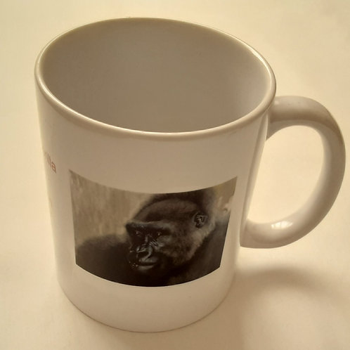 Cross River Gorilla Project Logo Mug