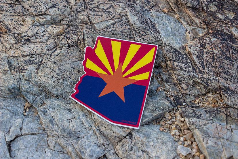 AZ Flag Sticker