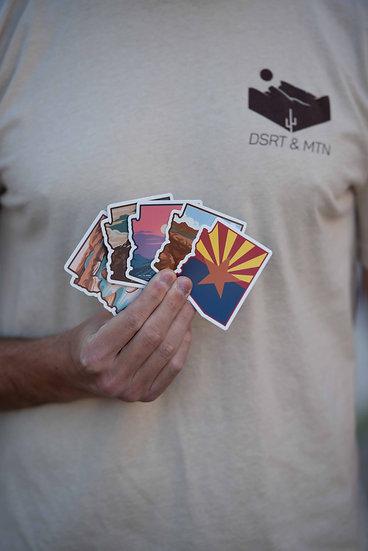 DSRT & MTN Sticker Pack