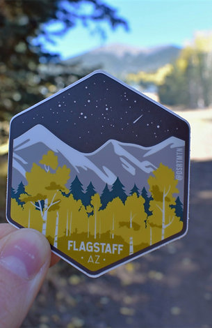 Flagstaff Sticker