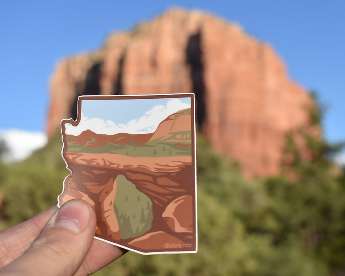 Sedona Sticker