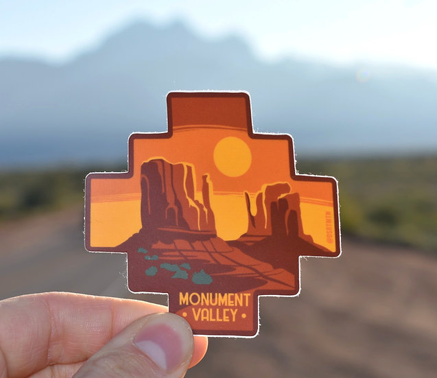 Monument Valley Sticker
