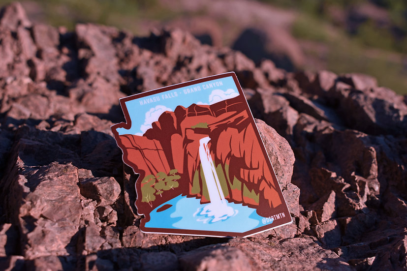 Havasu Falls Sticker