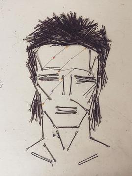 Portrait of David Bowie, 2016