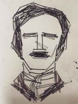 Portrait of Edgar Allen Poe, 2016