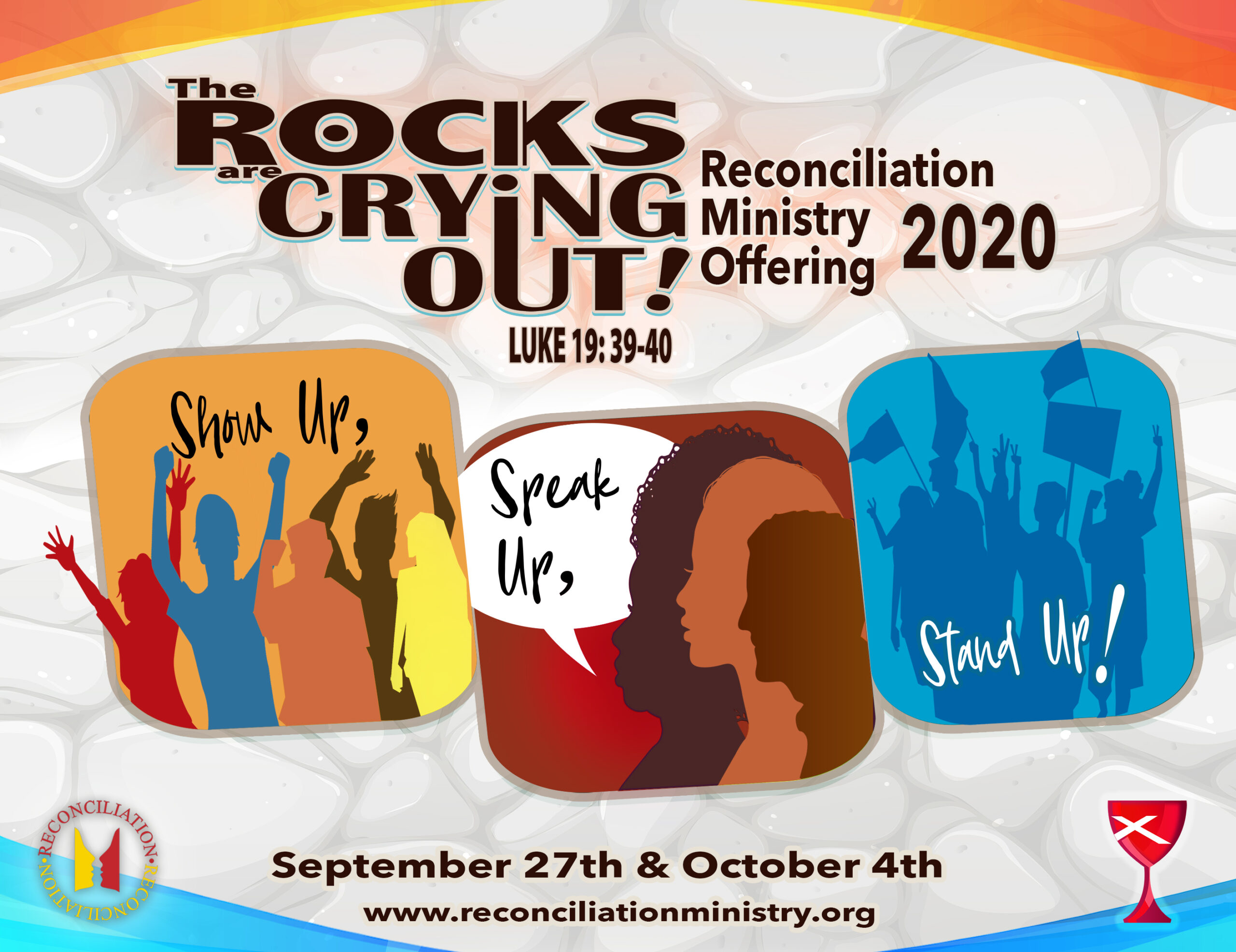 Reconciliation 2020: September 27 & October 4