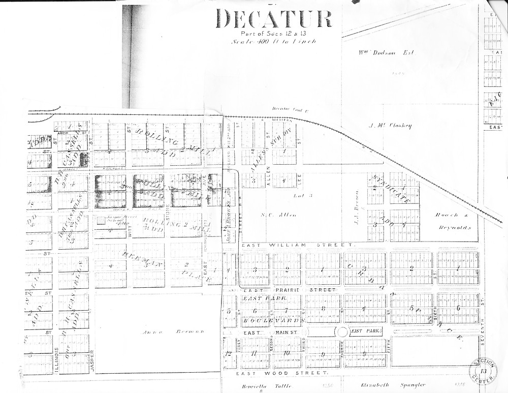 1903 Atlas. First lots of Beman Place.