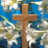 Easter Cross & Lilies