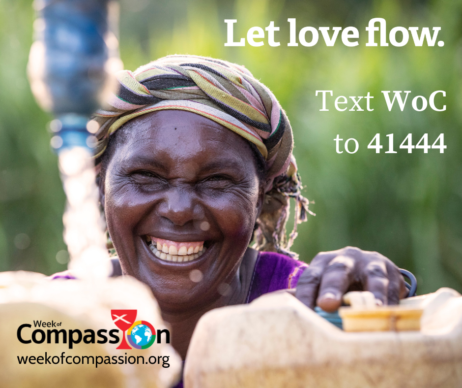 Week of Compassion 2021: Let Love Flow