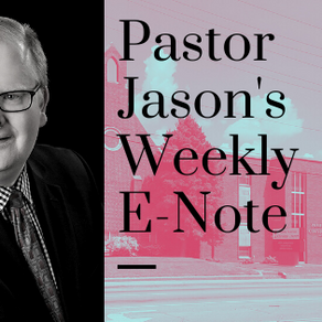 Jason's E-Note - October 30, 2020