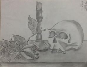 by Brady Hale graphite 8th grade