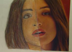by London Dorton colored pencil 6th grade
