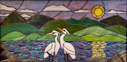 Great Egrets on Cherokee Lake