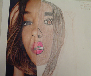 by Ariya Butler colored pencil 6th grade