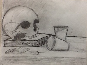 by Riley Hayes graphite 8th grade