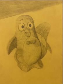 by Stacy Bonaparte pencil 6th grade