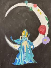 by Monica Arriaga acrylic 8th grade