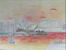 by Maddox Gust colored pencil 6th grade