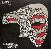 by Gabriel Lowe tempera 8th grade